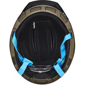 Cratoni C-Loom Kypärä, brown-blue rubber
